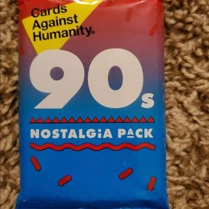 Cards against humanity 90s nostalgia Pack New